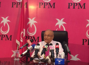 Translation: Gayoom's statement on PPM reform agenda