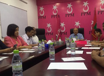 Gayoom vindicated by Yameen faction walkout, says PPM