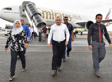 Vice president returns after official visit to UAE