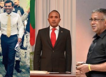 Arrest warrants issued for Nasheed, Jameel, and Akram