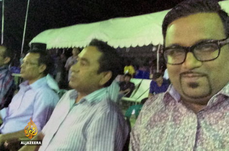 Adeeb shown Al Jazeera's corruption exposé in jail