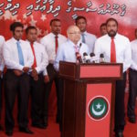 Under pressure: Yameen accused of targeting business owned by MPs loyal to Gayoom