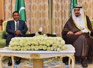 Saudi Arabia pledges US$150m 'bailout loan' to Maldives