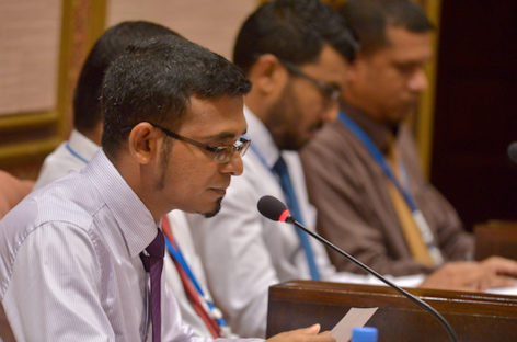 Finance minister presents MVR26.7bn budget for 2017