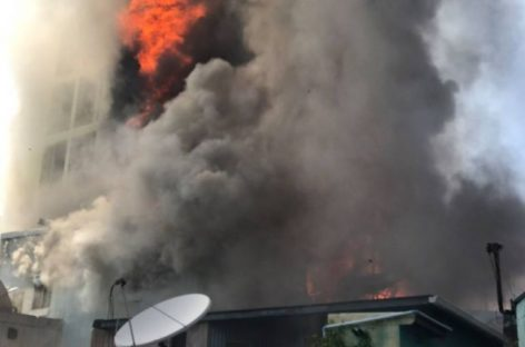 Fire breaks out at warehouse in Malé