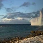 Ruling party holds tea party to celebrate reef blasting