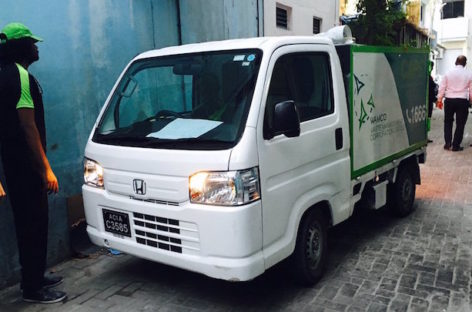 Waste management corporation begins garbage collection in Malé