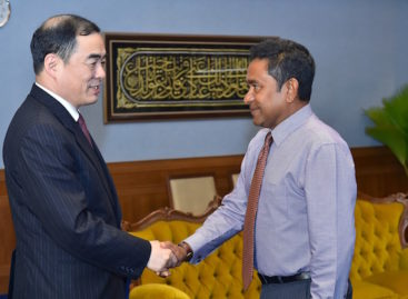 Top Chinese diplomat concludes official visit to Maldives