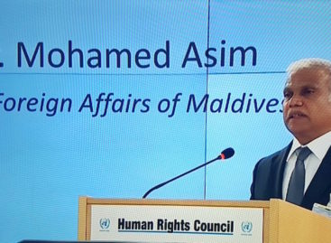 Maldives seeks third term on UN Human Rights Council