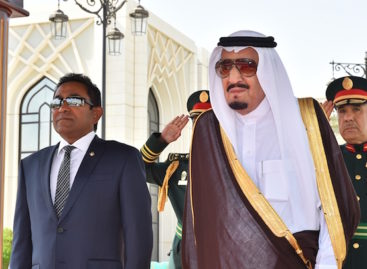 Maldives prepares to greet Saudi king