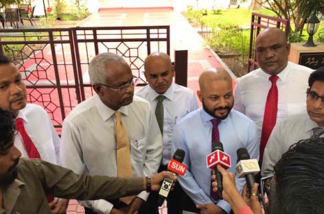 Faris Maumoon questioned by anti-graft watchdog