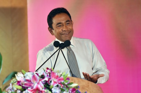 No cause for concern over 'US$10bn Faafu atoll project,' insists Yameen