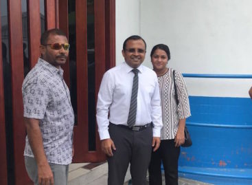 MP Riyaz pleads not guilty to obstruction charge