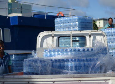 Malé faces bottled water shortage