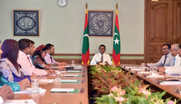 President restricts powers of Fuvahmulah city council