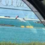 Seaplane crash lands in airport island lagoon