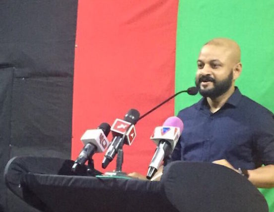MP Faris charged over use of PPM flag