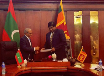 Maldives donates US$25k for Sri Lanka relief efforts