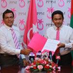 Deputy Speaker 'Reeko' Moosa joins PPM