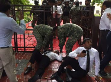 Opposition MPs forced out after soldiers and police storm parliament