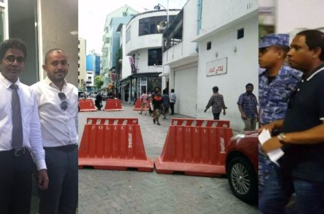 Opposition MPs arrested and meeting hall shuttered in police crackdown