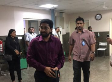 President's envoys visit Gasim in hospital
