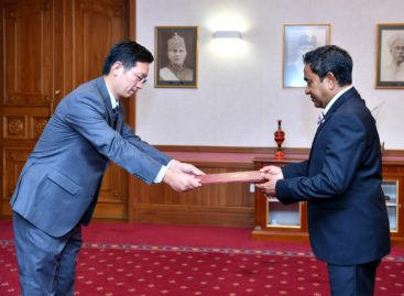New Chinese ambassador presents credentials amid criticism of Sino-Maldives ties
