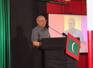 Gayoom calls on security forces to stop by-elections