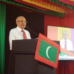 Security boosted at Gayoom's residence after alleged death threat
