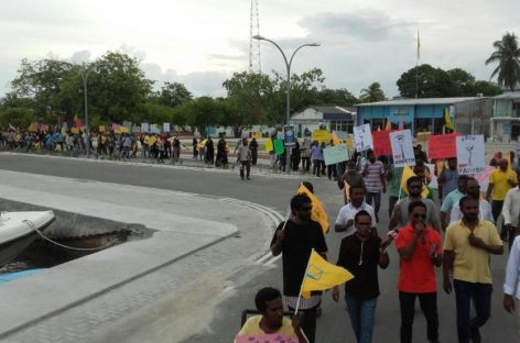 Teachers threatened with dismissal for joining protest