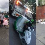 Garbage piles up as state company takes over collection services