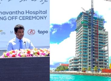 Concrete structure completed for 25-storey hospital tower