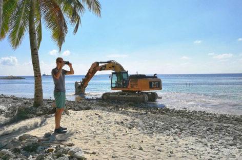 Environmentalists cry foul as Kulhudhuffushi airport project begins
