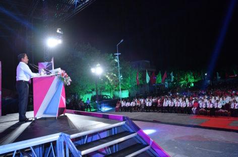 Yameen dials up campaign rhetoric