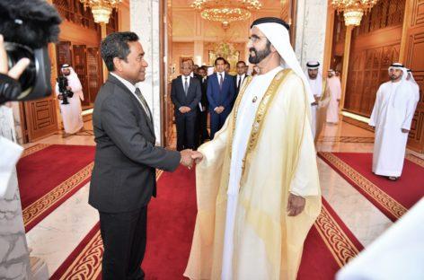 UAE to open embassy in Maldives
