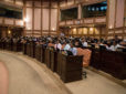 Record budget passed after opposition boycott