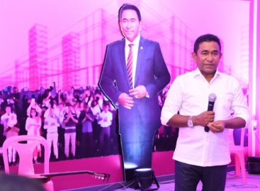 China-Maldives FTA will usher in 'revolutionary development,' says Yameen