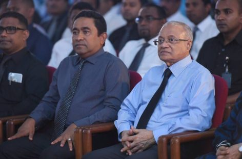 Yameen welcomes stability but Gayoom concerned over civil unrest