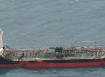 Maldivian-flagged tanker suspected of illegally aiding North Korea