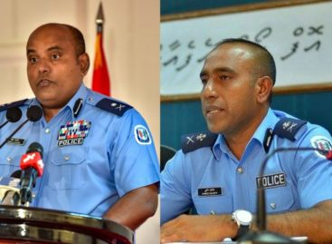 Maldives acting police chief fired