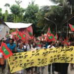Maldives protests call for Yameen's arrest