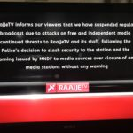 RaajjeTV shuts after Maldives military threatens action