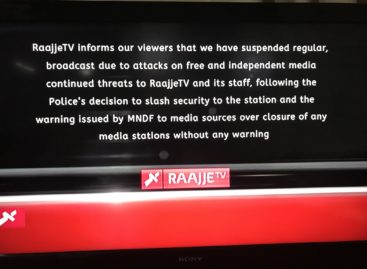 RaajjeTV shuts after Maldives military threatens action