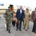Pakistan army chief arrives in Maldives