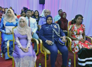 Diver, nurse and policewoman win Rehendhi awards