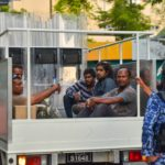'Huge smiles and strong handshakes': Police criticised for manhandling Maldivians