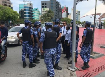 Opposition turned away from police HQ