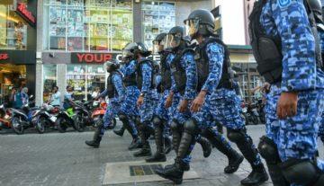 Policeman stabbed in capital