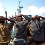 Captured fishing vessels were pirate boats