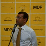 Nasheed picks campaign manager for party primary